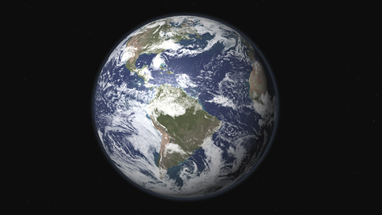 The rotating earth animation is also a 32 38 second loop and includes