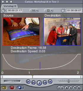 How to use the CGM Timewarp effect in Final Cut Pro